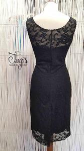 Mariquena Black Dress