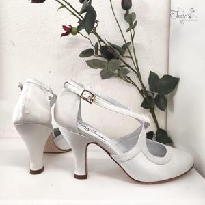 Romy Raso Bianco - Tacco 8,5cm