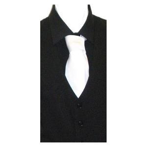 Cravatta bianca