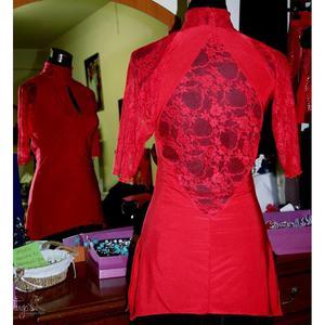 Maglia Delmara Rosso