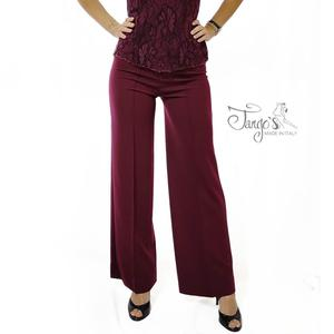 Pantaloni Aurora Bordeaux