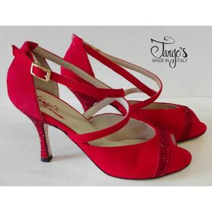 Sandalo Cristina Rosso Tacco 8,5cm