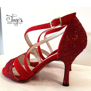 Sandalo La Plata Rosso