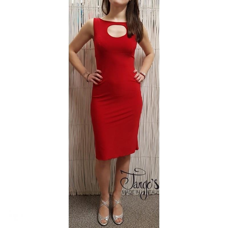Romina Red Dress