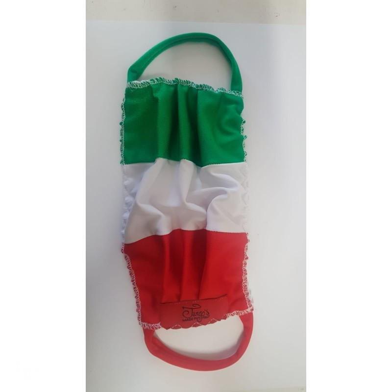 Mascherina Italia senza logo strass