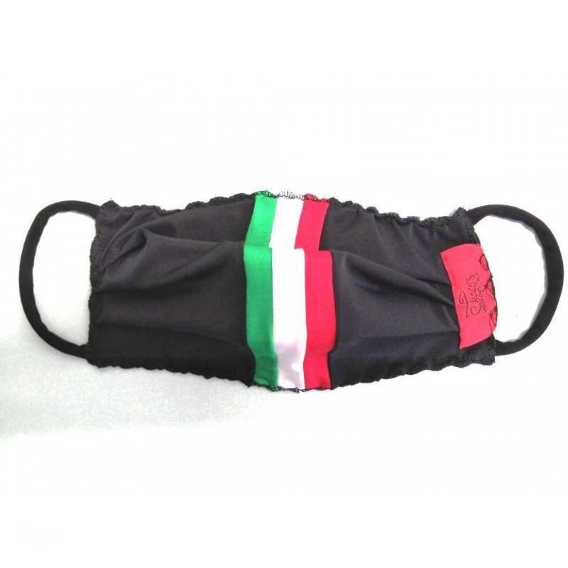 Mascherina Nera Italiana