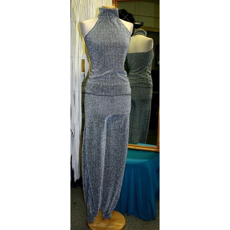 Pantalone Odalisca Lurex Argento