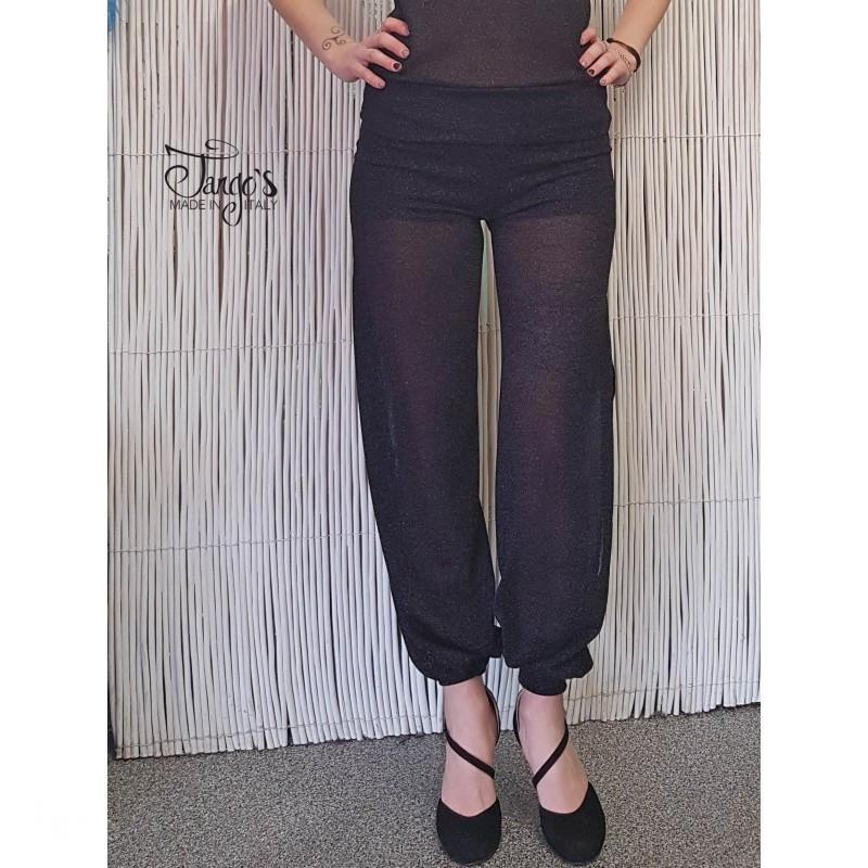Pantalone Odalisca Lurex Nero