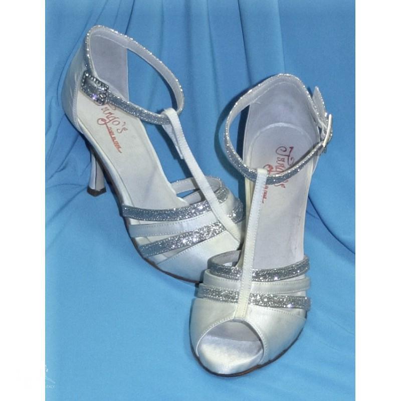 Sandalo Dorado grigio e argento