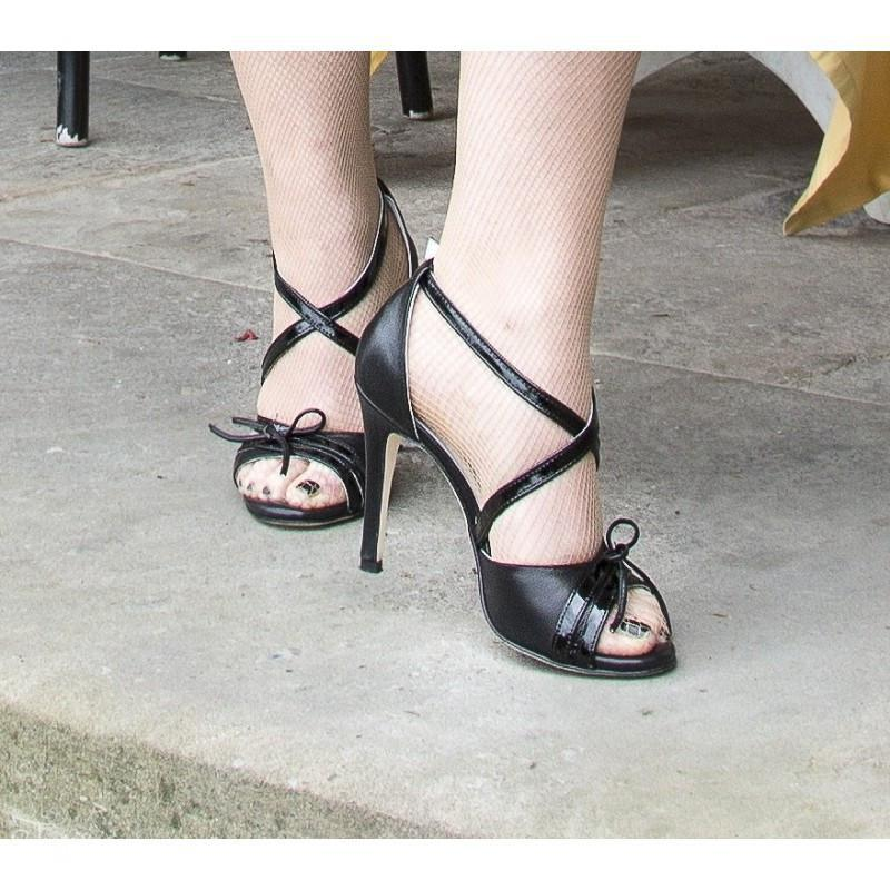 Sandalo La Cruz Nero 5