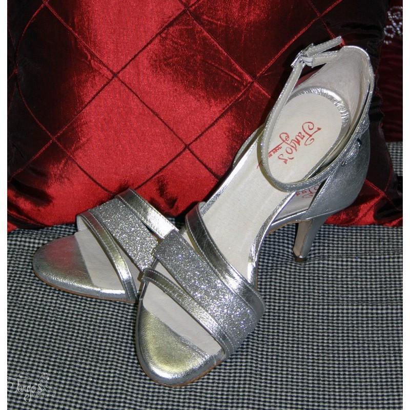 Sandalo La Plata argento