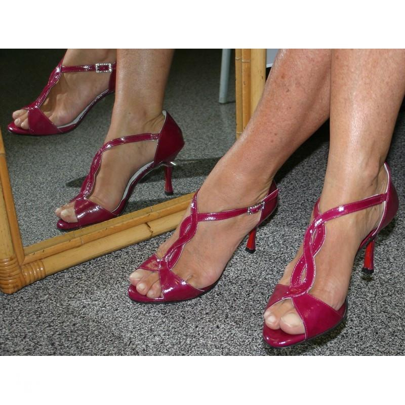 Sandalo Tango Timote rosa orchidea