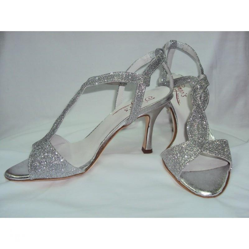 Sandalo Timote glitter argento 3