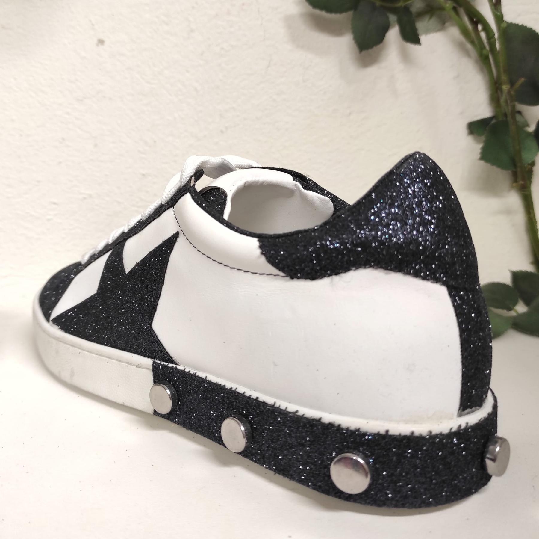 Sneakers Pelle Blu